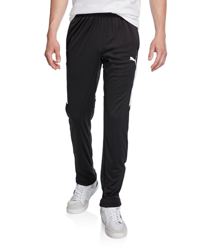 Men's Speed Side Panel Zipper Pants, Black