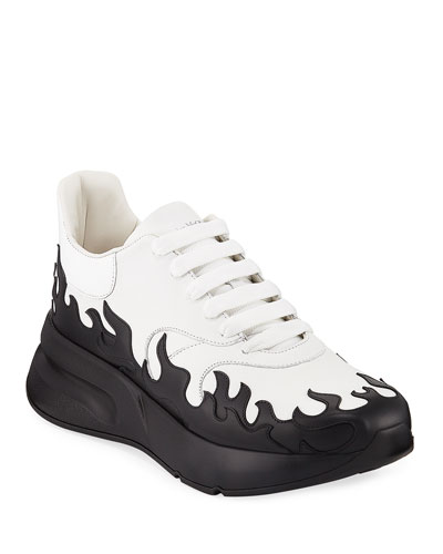Men's Flame Two-Tone Chunky Runner Sneakers