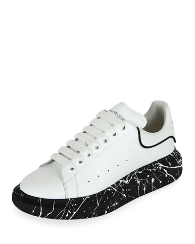 Men's Larry Marbled-Sole Trainer Sneakers