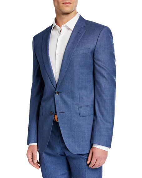 BOSS Men's Two-Piece Slim-Fit Wool Suit