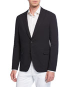 BOSS Men's Packable Seersucker Sport Coat