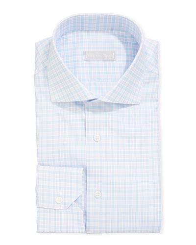Men's Napoli Check Dress Shirt