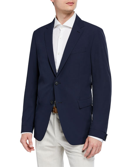 BOSS Men's Slim-Fit Travel Two-Button Jacket