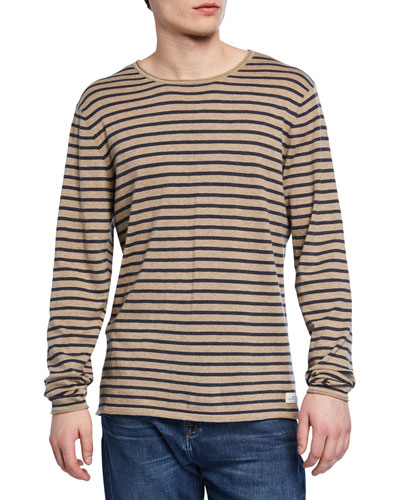 Men's Riviera Striped Crewneck Sweater