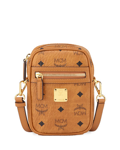 Men's Visetos Small Crossbody Bag