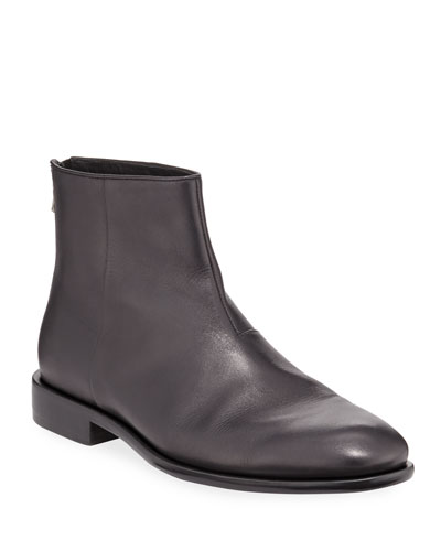Men's NYC Leather Ankle Boots
