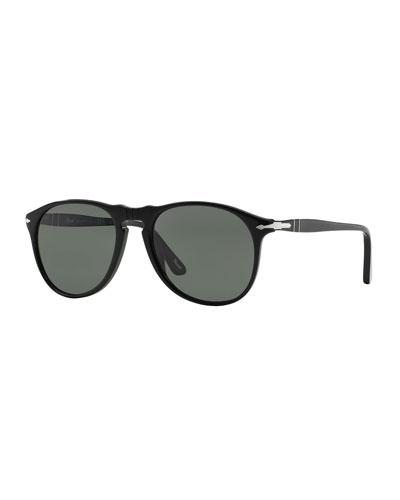 Men's Round Aviator Sunglasses
