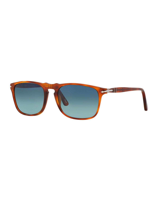 Men's Flat-Top Square Sunglasses