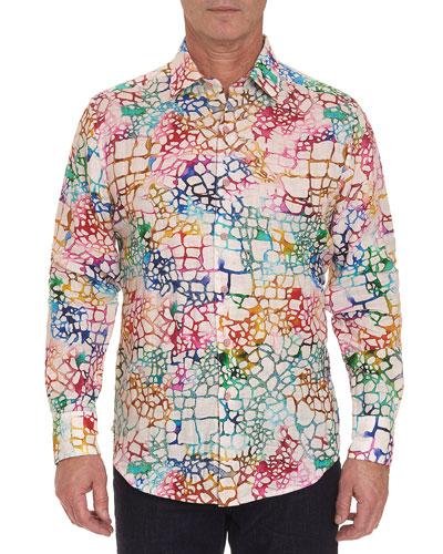Men's Zimbali Linen Sport Shirt