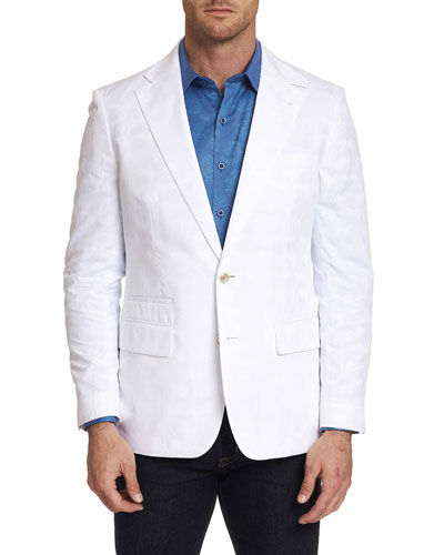Men's Moris Cotton Two-Button Jacket