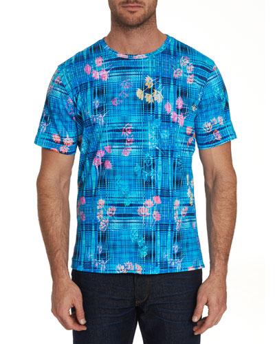 Men's Bentford Mixed-Print Short-Sleeve T-Shirt