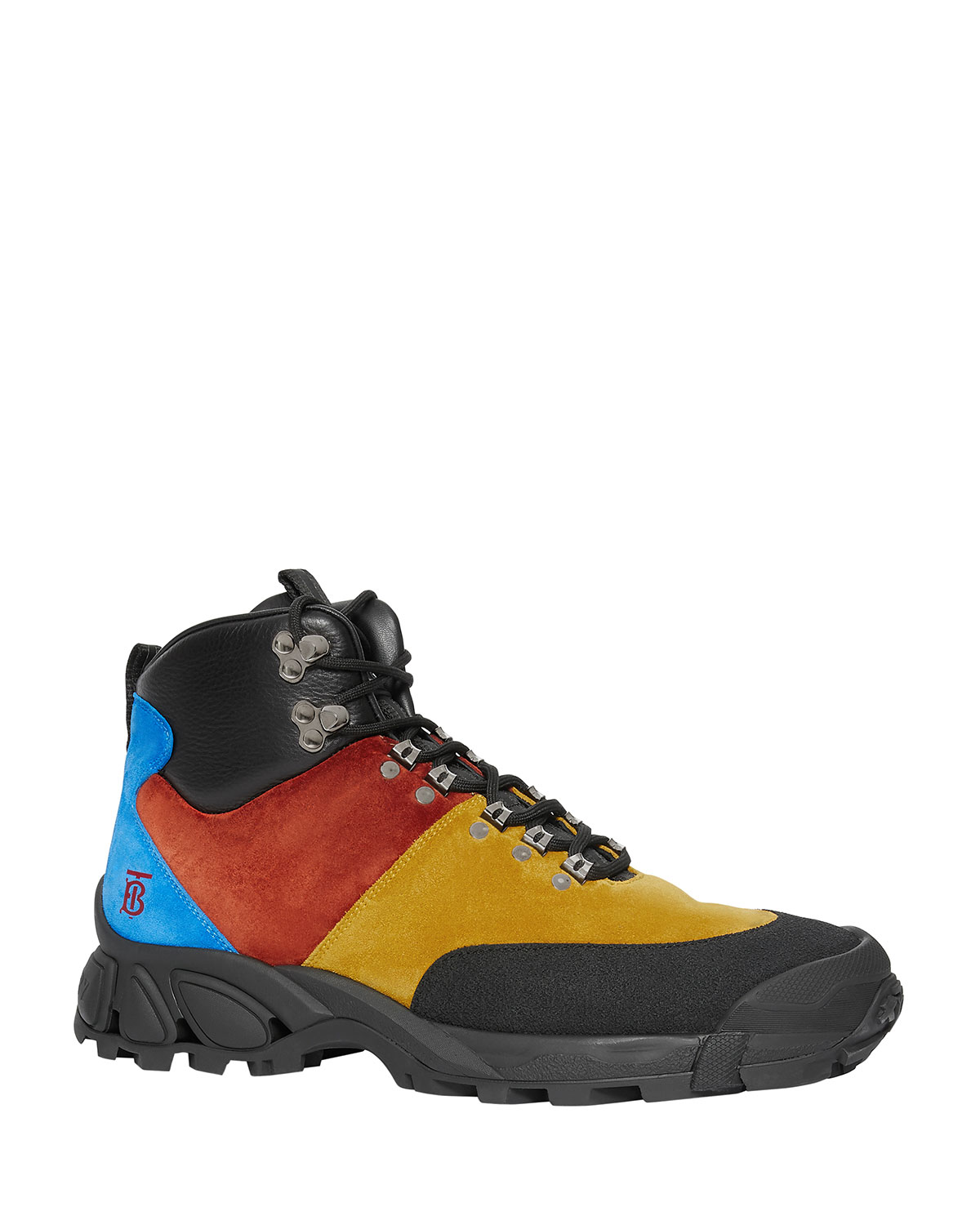Men's Henfield Colorblock Suede/Leather Hiking Boots