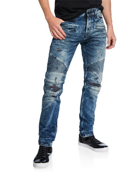 Hudson Men's Blinder Biker Skinny Moto Jeans