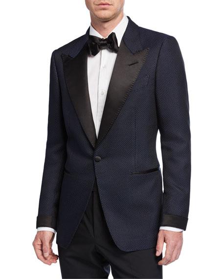 TOM FORD Men's Shelton Textured Evening Jacket