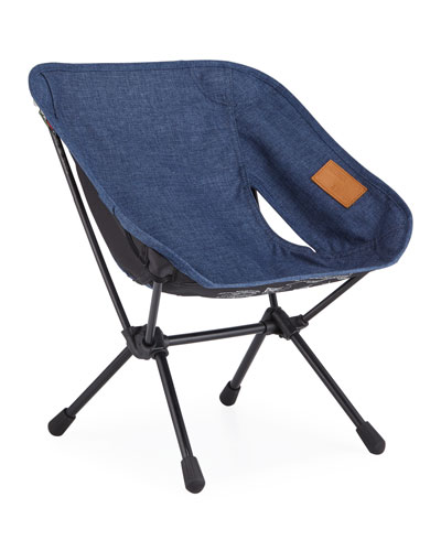 Foldable Outdoor Chair Mini, Navy