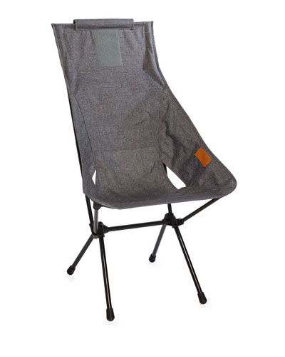 Foldable Outdoor Sunset Chair, Gray