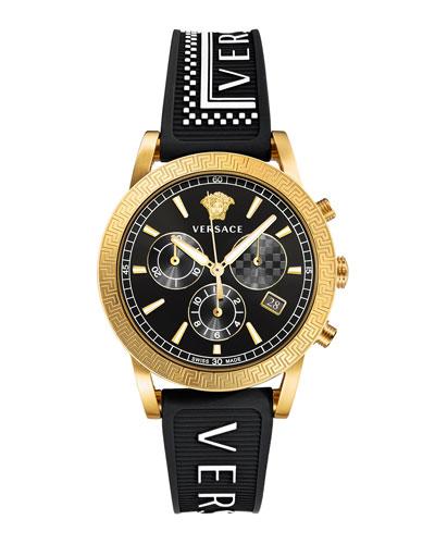 Men's 40mm Sport Tech Chronograph Watch