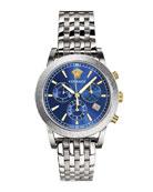 Versace Men's Sport Tech Stainless Steel Chronograph Watch