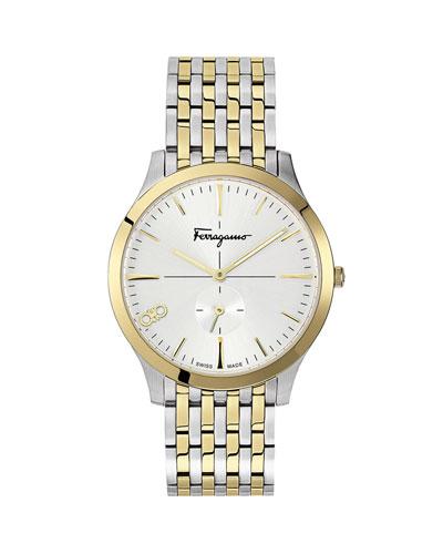 Men's Slim Gent Two-Tone Bracelet Watch