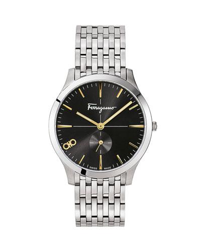 Men's Slim Gent 40mm Stainless Steel Watch