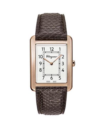 Men's Portrait Gent Karung Leather Watch