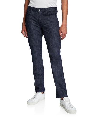 Men's Medium-Wash Denim Jeans