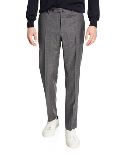 Men's Tropical Wool Standard-Fit Pants