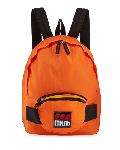 Men's CTNMB Dots Nylon Backpack