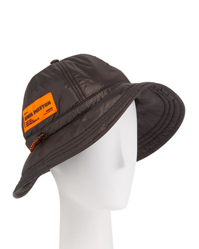 Men's Ghost Fisherman Hat with Logo Patch