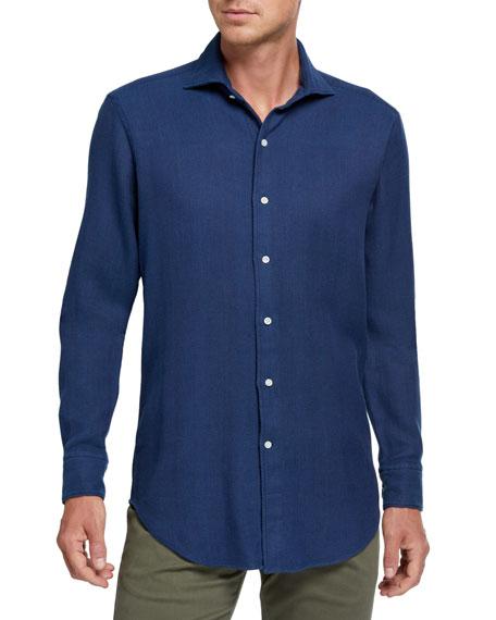 Peter Millar Men's Summertime Sport Shirt