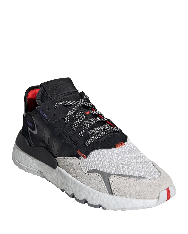 Adidas Originals Sneakers MEN'S NITE JOGGER GRAPHIC TRAINER SNEAKERS