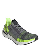 Adidas Men's Ultraboost 19 Stretch-Knit Sneakers