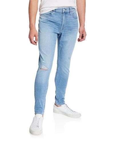 Men's Zack Distressed Skinny Jeans