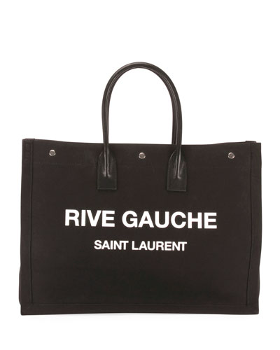 Men's Rive Gauche Logo Tote Bag