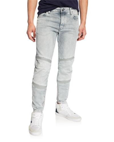 Men's Motac Slim Distressed Jeans - Wess