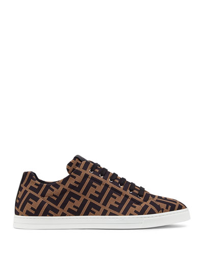 Men's Allover FF Low-Top Sneakers