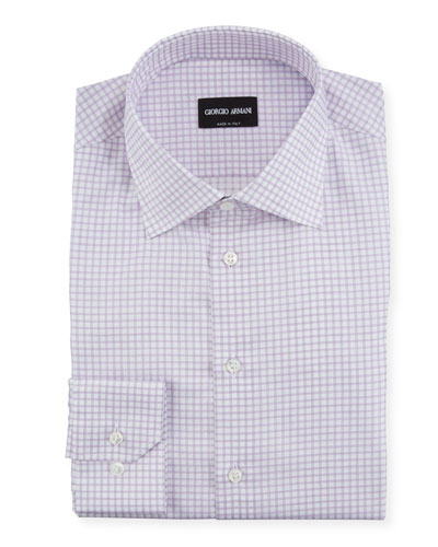 Men's Graph-Check Dress Shirt