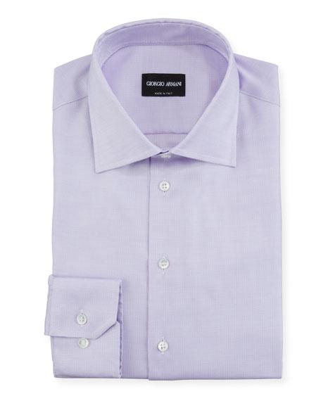 Giorgio Armani Men's Micro-Neat Sport Shirt