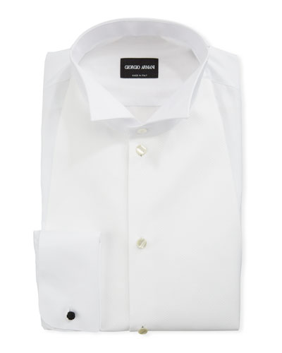 Men's Bib-Front Formal Shirt