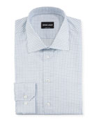 Giorgio Armani Men's Check Dress Shirt