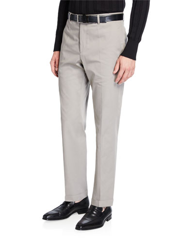 3852cb1c9f67 Quick Look. Santorelli · Men's Gabardine Straight-Leg Dress Pants.  Available in Beige