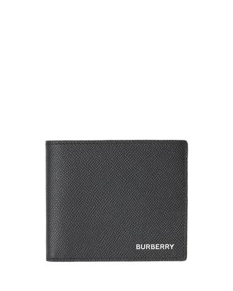 Burberry Men's Regency Grain Leather Bi-fold Wallet