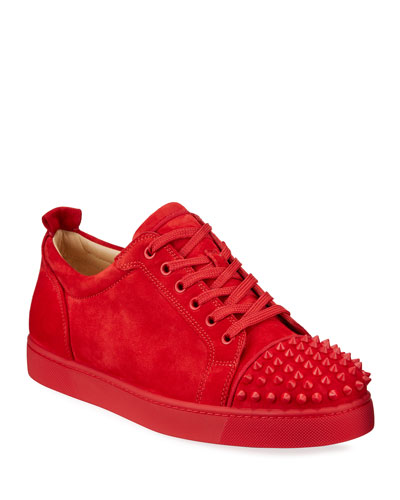 Men's Louis Junior Spikes Red Sole Sneakers