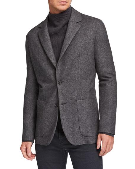 THE ROW Men's Walter Silk-Blend Sport Jacket