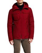 Herno Men's GoreTex Short Jacket