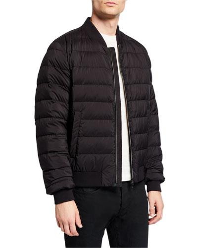 Men's Puffer Bomber Jacket