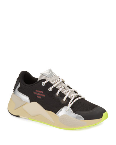 Men's RS-X Han Mixed-Media Trainer Sneakers