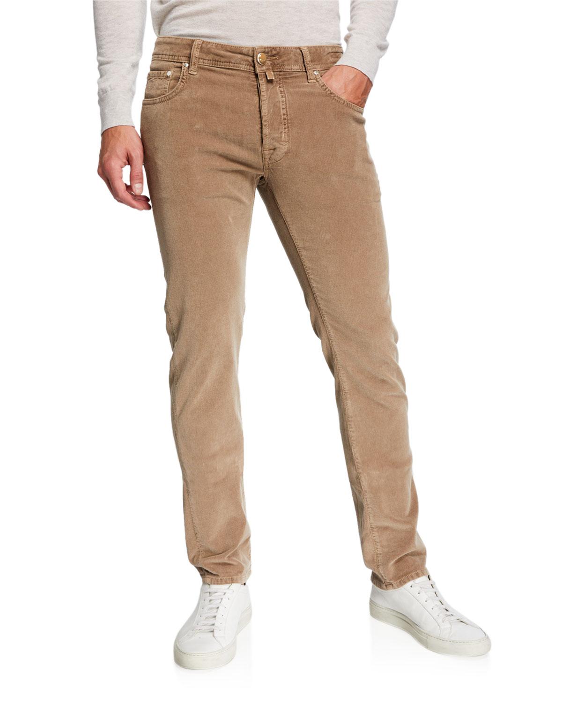 Jacob Cohen Pants MEN'S 5-POCKET STRETCH-CORDUROY PANTS