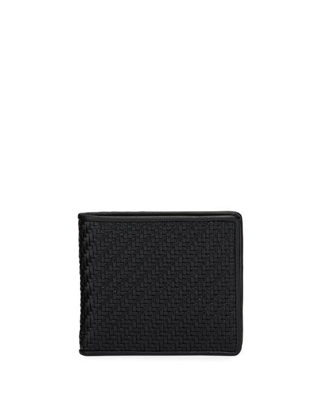 Ermenegildo Zegna Men's Pelle Tessuta Bifold Wallet