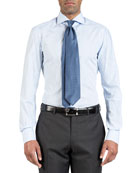 Isaia Men's Bengal Stripe Dress Shirt